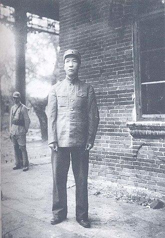 Zhou Baozhong - Zhou Baozhong in Yanji in August 1946