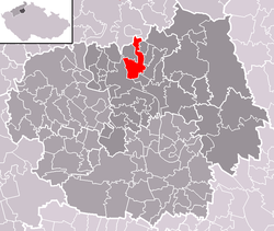 Location of Žitenice