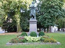 Zschokke-Denkmal im Stadtpark Aarau (Quelle: Wikimedia)