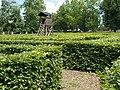 Zsigmond Széchenyi Hunting Museum Park, hedge maze and tower, 2017 Hatvan.jpg