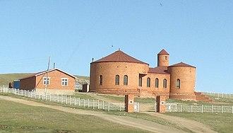 Christianity in Mongolia - Protestant church in Zuunmod, Tov Aimag