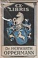 """""""EX-LIBRIS Dr. HERWARTH OPPERMANN"""" Fünfzig Jahre C. Louis Weber, Hannover (02) (cropped).jpg"""
