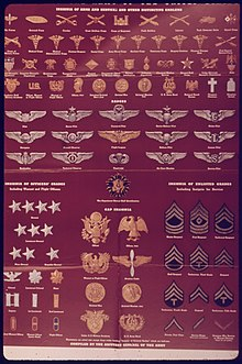 Insignia Of The Army United States Office War Information