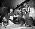 """Making model airplanes for U.S. Navy at the Armstrong Technical High School. Washington, DC."", 03-1942 - NARA - 535814.tif"