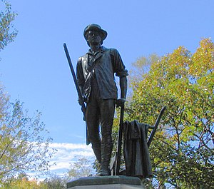 "Melzar Hunt Mosman - Image: ""Minuteman"" Statue, Concord, MA"