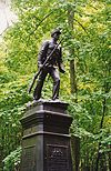 """Skirmishers"" monument to the 10th PA Reserve Infantry, 1890.jpg"