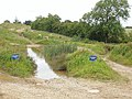 """Swimming pool"" on 4x4 course, Silverstone - geograph.org.uk - 478766.jpg"