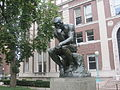 """The Thinker"" statue at Columbia University IMG 0936.JPG"