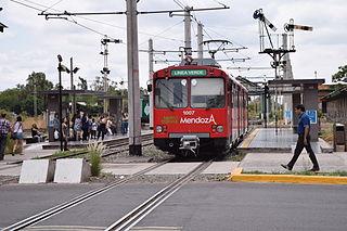 Metrotranvía Mendoza public transport system in Mendoza, Argentina