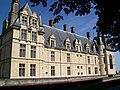 Écouen (95), château d'Écouen, façade sud 3.jpg