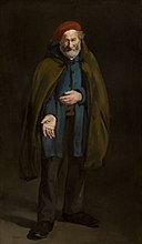 Édouard Manet - Beggar with a Duffle Coat (Philosopher) - 1910.304 - Art Institute of Chicago.jpg