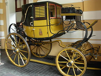 Landaulet - Landaulet carriage at Łańcut Castle