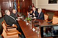 Επίσκεψη, Υπουργού Εξωτερικών, Ν. Κοτζιά στην πΓΔΜ – Συνάντηση ΥΠΕΞ, Ν. Κοτζιά, με Πρόεδρο κόμματος DUI, A. Ahmeti (23.03.2018) (27100862938).jpg