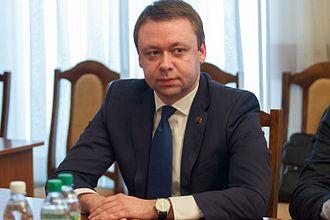 Aleksandr Martynov (Transnistrian politician) - Image: Александр Мартынов