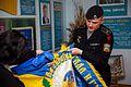 Бойовий прапор Керченської бригади НГУ переданий до Центрального музею НГУ 9684 (26291391082).jpg