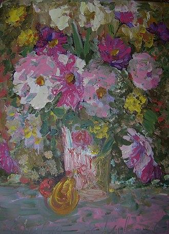 Julia Dolgorukova - Image: Букет