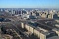 Вид с Главного здания МГУ на Химический факультет - panoramio.jpg