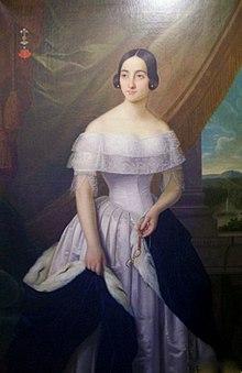 Портрет Екатерины Гончаровой, Soultz-Haut-Rhin в Эльзасе