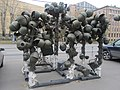 Инсталляция из касок. Центральный музей Вооруженных сил. Москва. Октябрь 2015 - panoramio.jpg