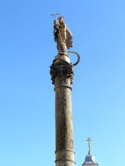 Корінфська колона - Підкамінь.JPG