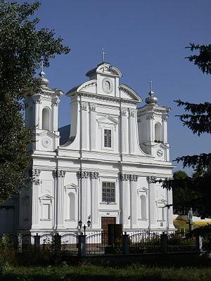Korostyshiv - Church of the Nativity of the Virgin Mary in Korostyshiv