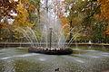 Менажерийный пруд с фонтаном «Солнце» (Петергоф, у пересечения Марлинской и Монплезирской аллей).JPG
