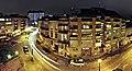 Ніч на вул. Вагілевича - Vahilevycha street night panorama - panoramio.jpg