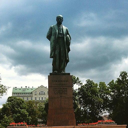 Пам'ятник Тарасу Григоровичу Шевченко у парку