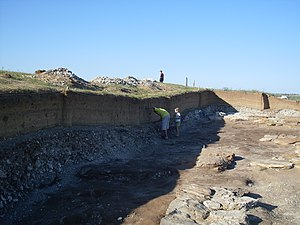 Sarkel - Excavations in 2009
