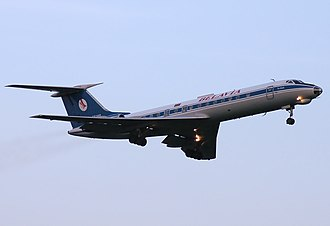 Belavia - A now retired Belavia Tupolev Tu-134 in 2008