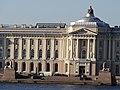 Университетская набережная Пристань со сфинксами 2.JPG