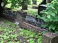 Фрагмент ограды могилы востоковеда Крачковского И.Ю.jpg