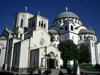 Church of Saint Sava Tsrkva i Khram Svetog Save u Biogradu.jpg