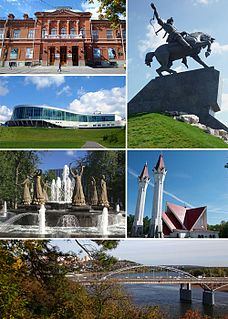 Ufa City in Bashkortostan, Russia