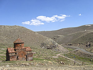 Sarnaghbyur - Hokevank Monastery or the Red Monastery