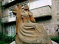 Վանաձորի մանկավարժական ինստիտուտ, Մհեր Մկրտչյանի արձանը Vanadzor State Pedagogical University 05.jpg
