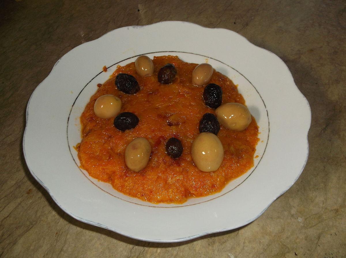 Cake Olives Thon Tomates