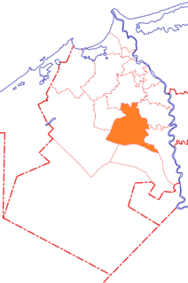 El Delengat town in Beheira Governorate, Egypt
