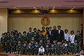ขบวนการจิ๋วเรนเจอร์ เข้าพบนายกรัฐมนตรีเพื่อบรรพชาสามเณ - Flickr - Abhisit Vejjajiva.jpg