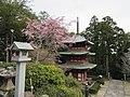 三重塔と桜 - panoramio.jpg