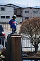 北山形駅前の小便小僧 Manikin Piss at Kita-yamagata Station - panoramio.jpg