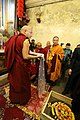 大寶法王噶瑪巴與大會主席 堪祖蔣康仁波切 - HH 17th Karmapa and the Chairman, Khentrul Gyang Khang Rinpoche (12482846903).jpg