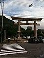 愛媛縣護國神社 第一鳥居 Ehimeken-Gokoku-jinja first torii - panoramio.jpg