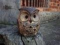 蘆竹德馨堂旁的小型貓頭鷹塑像.jpg