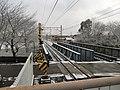 高田橋駅 ホーム東端より - panoramio.jpg