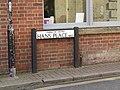 -2019-10-30 Street name sign, Hans Place, Cromer.JPG