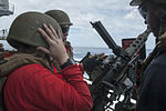 .50-caliber machine gun live-fire on USS Carl Vinson fantail 140925-N-HD510-149.jpg