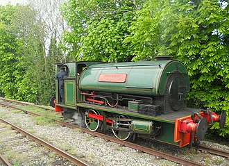 Cholsey and Wallingford Railway - Image: 02I05I2015 CWR Steam Event C2