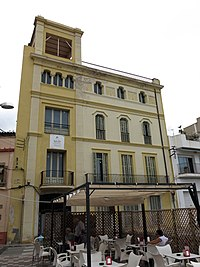 039 Can Miquel Ibern, c. Vall 45 (Canet de Mar).JPG