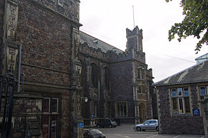 Bristol Grammar School - Main entrance